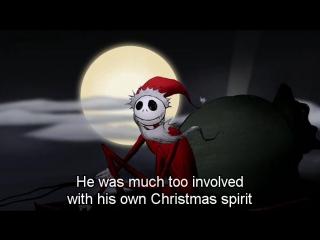 Кошмар Перед Рождеством — Оригинальная Поэма Тима Бертона (2008) Eng + Eng Sub (360p)