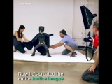 Josh Rossi turned kids with illnesses and disabilities into the superheroes from Justice League