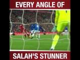 Best Goal Of The Month - Mo Salah vs Everton