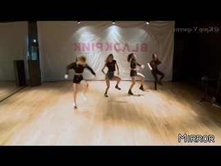 BLACK PINK - PLAYING WITH FIRE (Dance Practice) Mirror Version.mp4