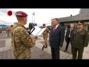 9 травня 2017 Президент України приймає присягу військовослужбовців