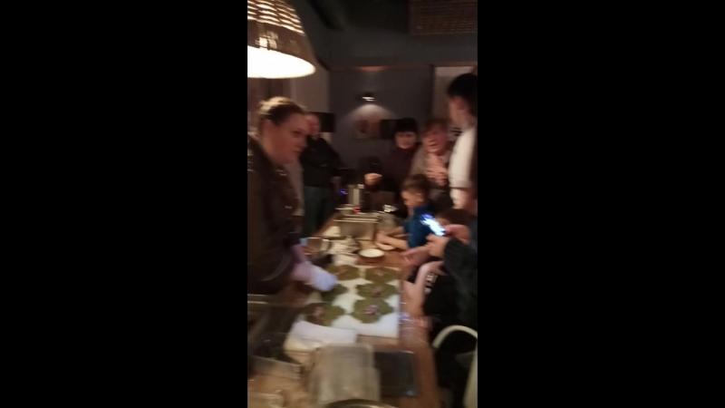 Мастер класс в ресторане Сулугуни