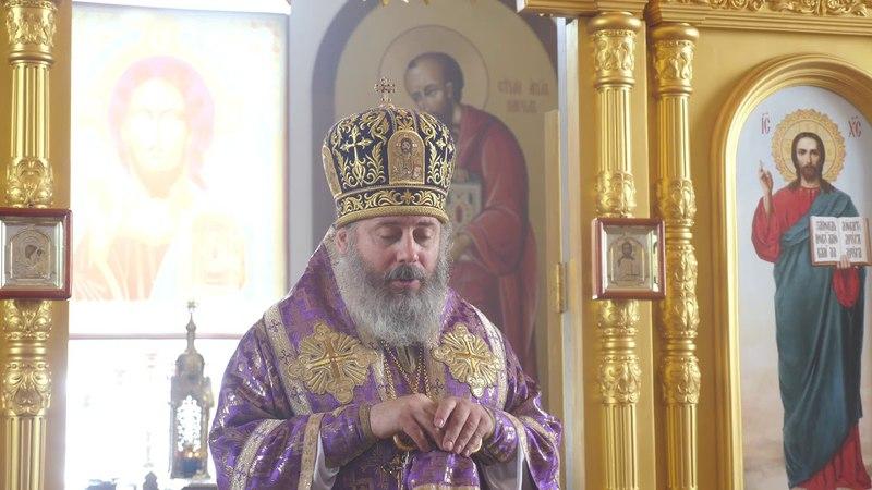 Владыка Иоанн в Палласовском храме новомучеников и исповедников церкви русской.