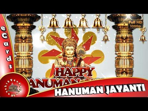 Happy Hanuman Jayanti 2018,Wishes,Whatsapp Video,Greetings,Animation,Festival,Download