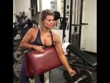 Горячая тренировка на спину и бицепс