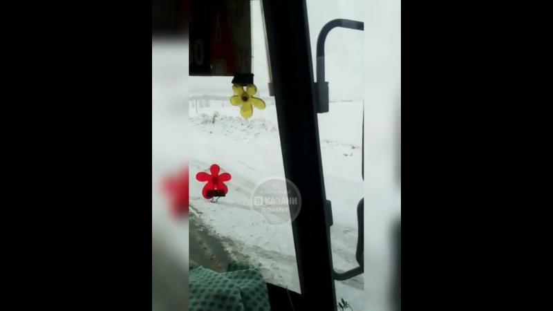 ▶ Авария на съезде с Альметьевской дороги