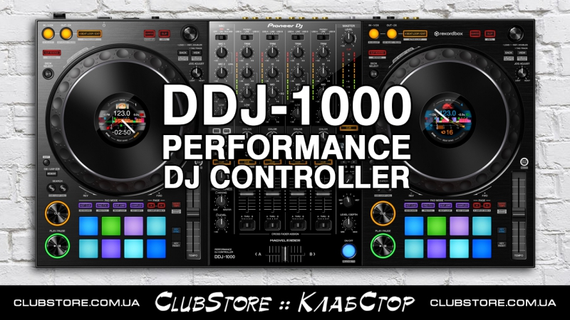 Pioneer DJ DDJ-1000 Official Introduction with Deejay Irie :: [clubstore.com.ua]