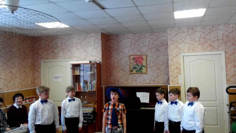 Мальчишки 3х классов и Незнайка Вячеслав Ворокута