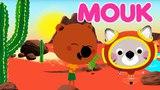 Mouk - Canyon Explorers (Arizona - USA) and Walking on the moon (Turkey)   Cartoon for kids