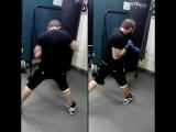 Шандор   тренировка  бокс