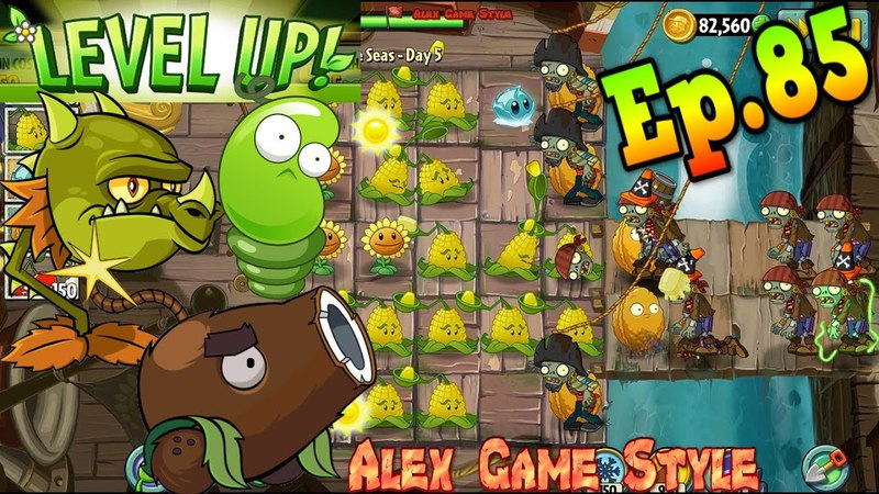 Plants vs Zombies 2 Quest - Reduce Zombies to Ash!    Level UP Plants (Ep.85)