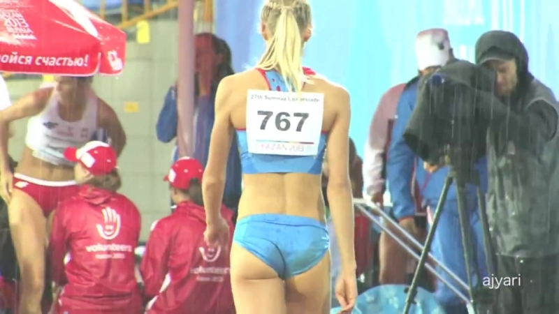 Darya Klishina ♥ Darya Klishina 03, shes wet but calm