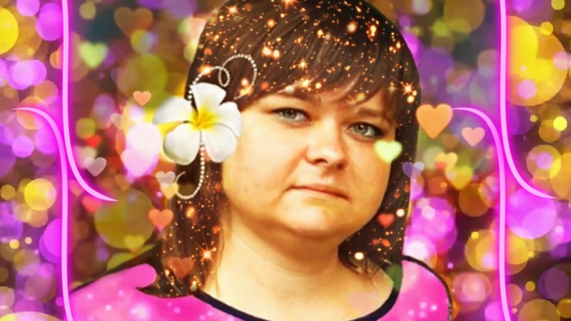 Видео-открытка для Юли Руденко
