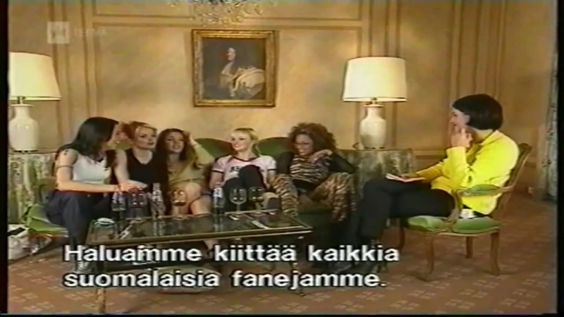 Spice Girls Interview on Finnish TV / November 17, 1997