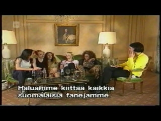 Spice Girls Interview on Finnish TV / November 17, 1997