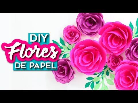 DIY DECORAÇÃO DE FESTA: PAINEL DE FLORES GIGANTES DE PAPEL | PROJETO PRIMAVERA | Do Sofá