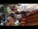 Таймлапс_ парень сам строит хижину