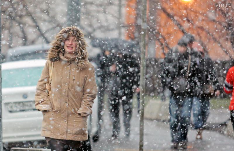 НаТольятти движутся снегопады иметели