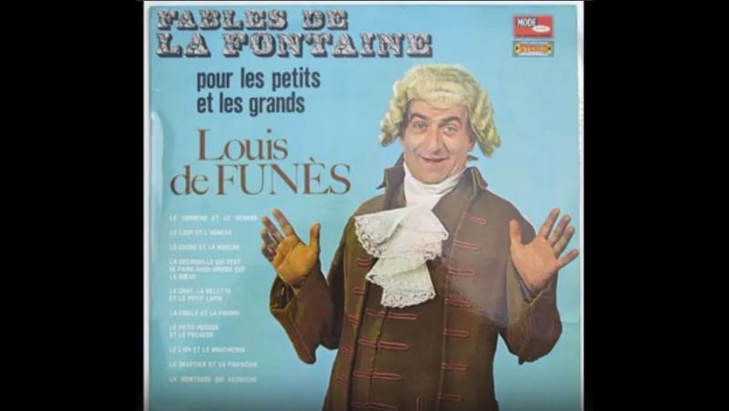 Louis De Funès Le Corbeau et le renard
