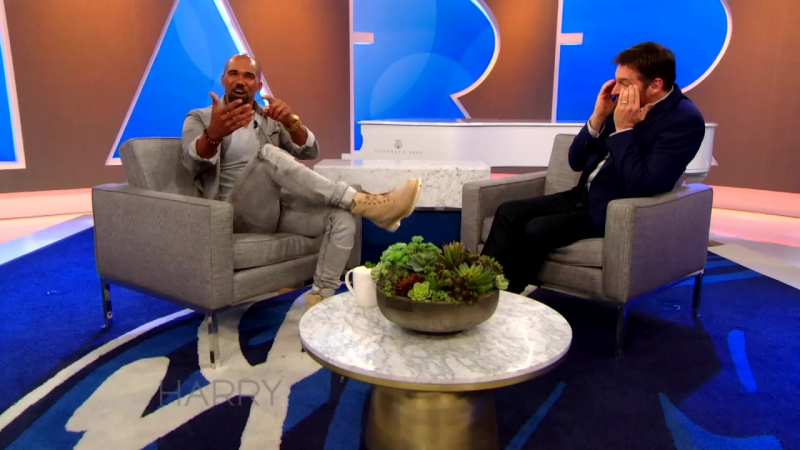 Shemar Moore Accidentally Sexts His Mom