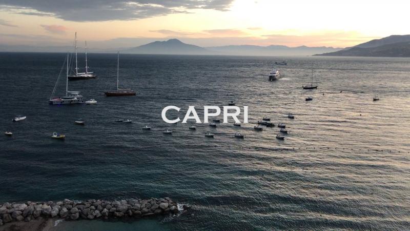 Италия. Остров КАПРИ. Самый красивый вид из окна!