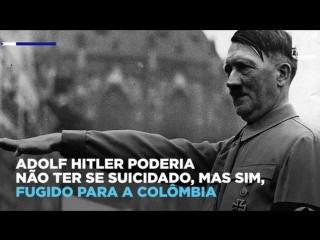 Documentos da CIA revelam que Hitler pode ter fugido para Colômbia