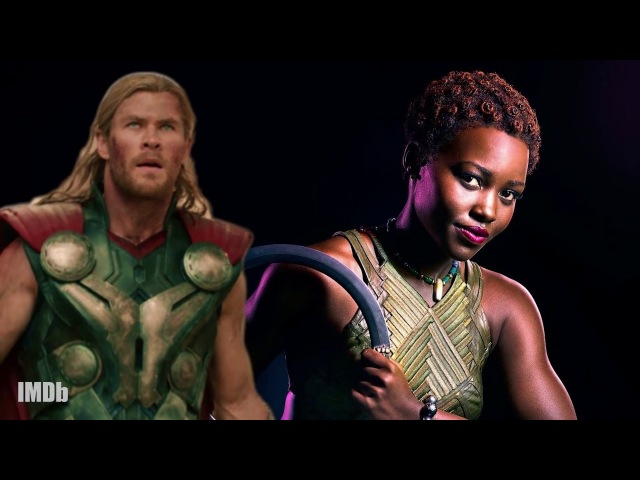 'Black Panther' Cast Choose Their 'Avengers' Battle Partners | IMDb EXCLUSIVE