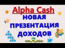Презентация Alpha Cash и ответы на вопросы от 18.10