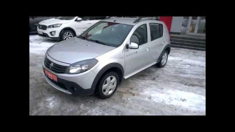 Купить Рено Сандеро Степвей (Renault Sandero Stepway) 1.6 MT 2014 г. с пробегом бу в Саратове Элвис