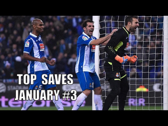 TOP SAVEs of the Week | January 3 17/18 - Sergio Asenjo, Diego López