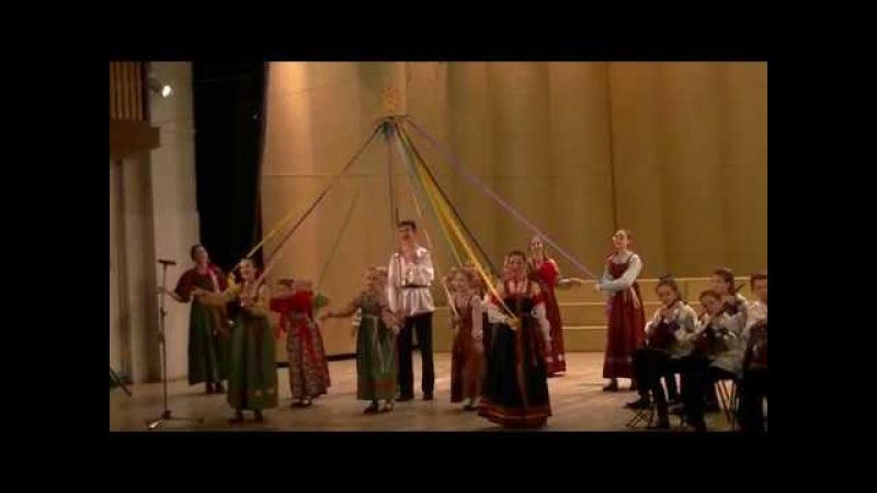 Фольклорный ансамбль младших и старших классов - Отчетный концерт Детской школы искусств