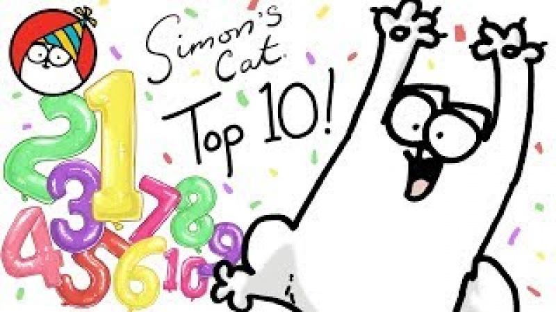 Top 10 Episode Countdown! - Simon's Cat | COLLECTION