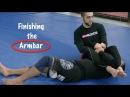Brazilian Jiu Jitsu Finishing the Armbar Firas Zahabi