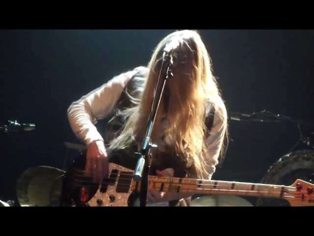 James LoMenzo with Strandberg Rock/Metal Project - Young Man Blues - 2013-02-07 Espoo