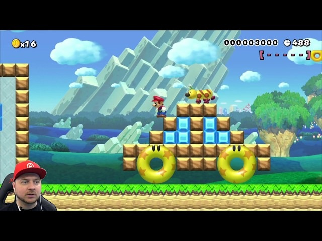 Super Mario Maker игрокаверы