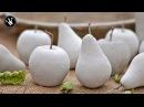 DIY - Herbstdeko selbermachen | Früchte aus Beton | Gießform aus Silikon herstellen | How to