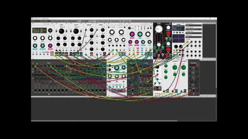 VCV Rack Patch Ambient Quantum Break