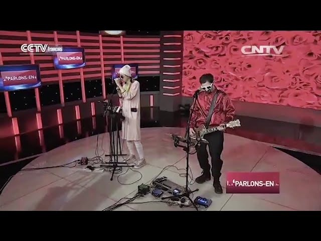 Gemini @ CCTV TV SHOW - La Vie En Rose LIVE