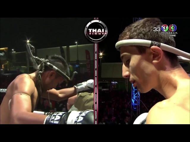 Chanajon P.K. Saenchai (Thailand) VS IsIam Murtazaev (Russia) | THAI FIGHT Chaingmai 2017