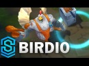 Birdio (Bird/Chicken Galio) Skin Spotlight - Pre-Release - League of Legends