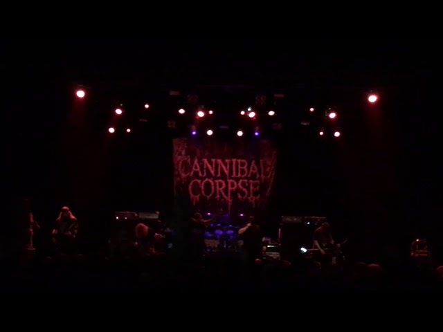 Cannibal Corpse - Stripped, Raped Strangled With Trevor from The Black Dahlia Murder Live