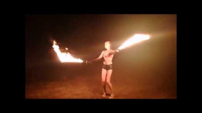 Elizaveta Zvorygina - FIRE SHOW