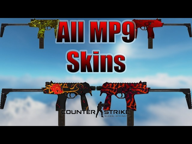 CSGO | MP9 - All Skins Showcase Price 2017 (4K)