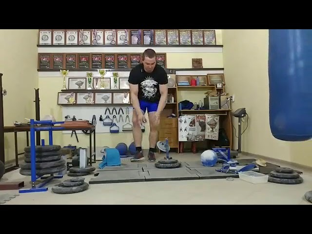 Vitaliy Bobyrev CRAB4 LIFT 22 kg - 13 reps for 1 min