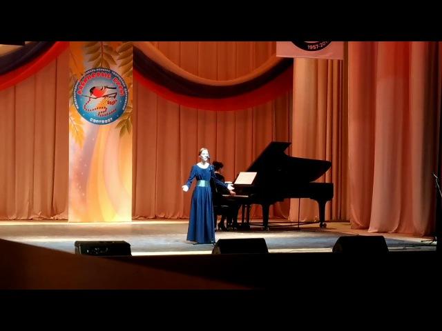 Мария Мутлова, ария Странника из оратории Триумф Юдифи