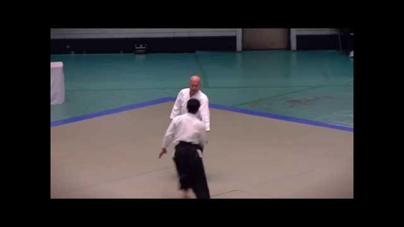 Kuribayashi Shihan Embu, 55th All Japan Aikido Embukai, 2017