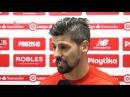 NOLITO: El balón no ha entrado y ellos han sido más eficaces. 10/03/18. Sevilla FC