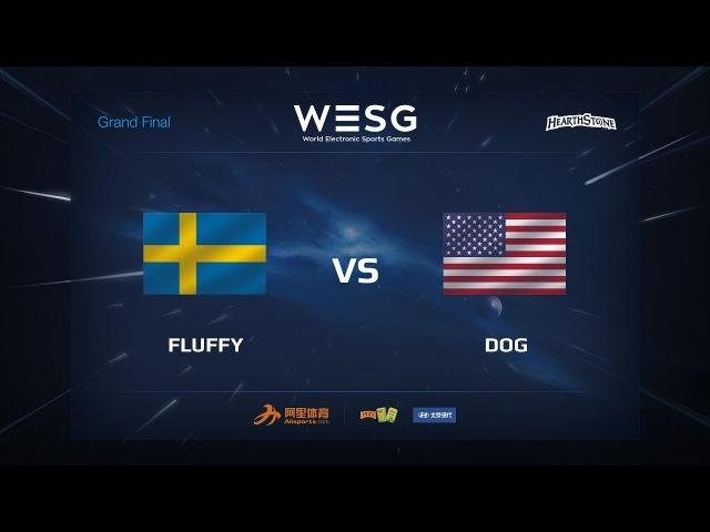 Fluffy vs Dog WESG 2017 Grand Final Hearthstone