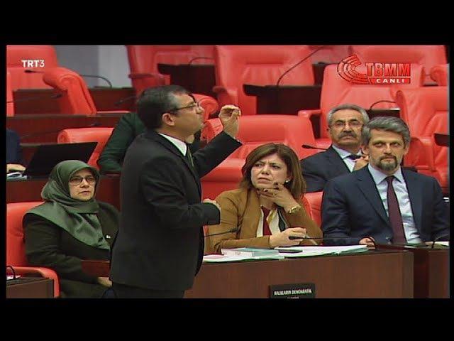 Özgür Özel Meclis Başkanı Tek Adamdır dedi, tartışma yaşandı ve uyarı cezası aldı 10 Ocak 2018