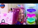Цвета вместе с Куклой Барби и Красим Волосы